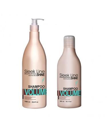 Stapiz Szampon z jedwabiem - Sleek Line - Volume non-stop 300ml