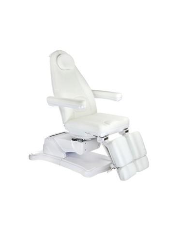 Elektryczny fotel kosmetyczny Mazaro BR-6672C Biał