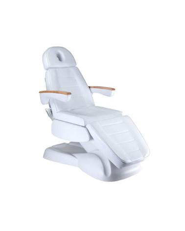 Elektryczny fotel kosmetyczny LUX BW-273B Biały