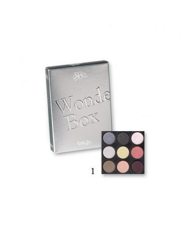 Karaja Wonder Box Mini paletka dziewięciu cieni do powiek nr 1