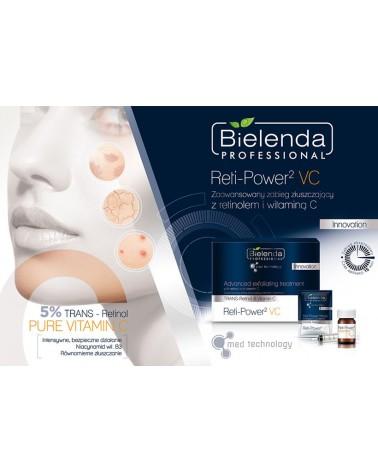 BIELENDA Reti Power2 Vitamin C – Zaawansowany zabieg złuszczający z Retinolem i Witaminą C
