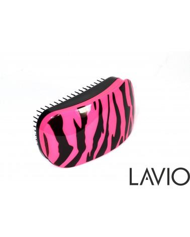 LAVIO Detangler szczotka  rozplątująca do włosów kolor Różowa zebra