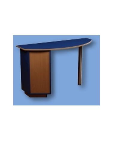 DCD NAILS stolik mini niebieski