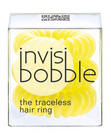Invisibobble - innowacyjna gumka do włosów: żółta  3 szt.