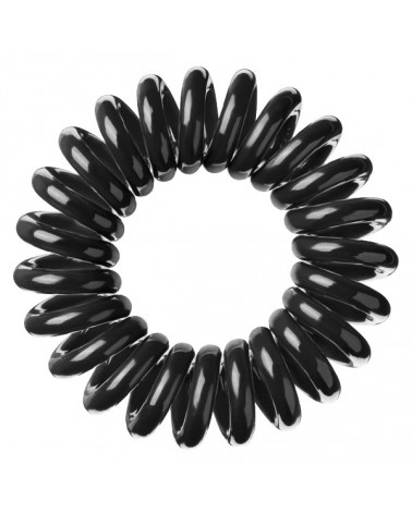 Bobbles Hair Band Gumka do włosów - czarna opak 3szt