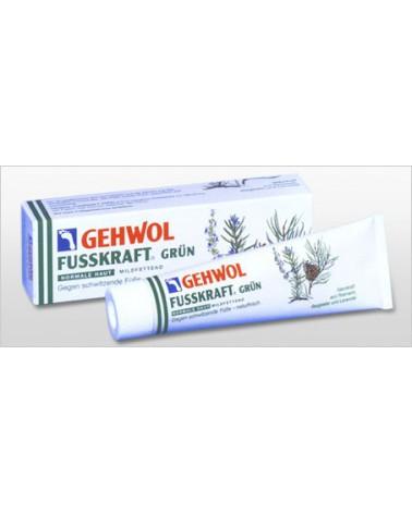 GEHWOL Fusskraft  grün balsam z kompleksem Deozinic odświeżający  do pocących sie stóp 125ml