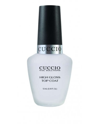 Cuccio High Gloss Top Coat 13ml top nabłyszczający