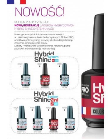 MOLLON PRO Hybrid Shine System - Color UV/LED - 2/16 AMARANTH 8ml