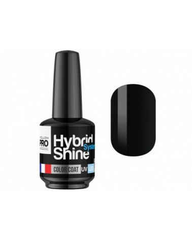 MOLLON PRO Hybrid Shine System - Color UV/LED - 2/48 BLACK / NOIR 8ml