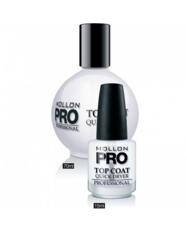 MOLLON PRO Top Coat Quick Dryer 15ml