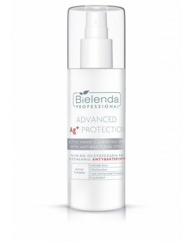 Bielenda ADVANCED Ag+ PROTECTION Płyn do oczyszczania rąk o właściwościach antybakteryjnych 150 ml
