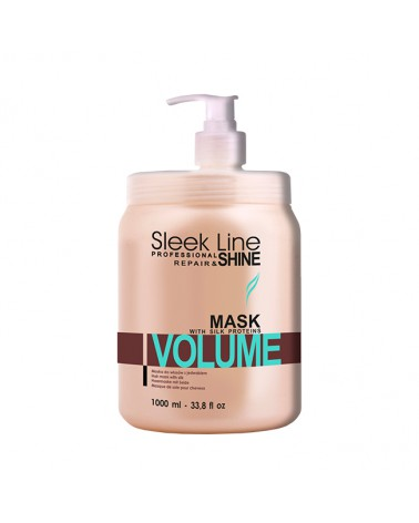 Stapiz Maska z jedwabiem - Sleek line - Volume Non-Stop 1000ml
