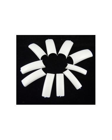 DCD Tipsy uzupełnienia 25 szt # 2 białe - french
