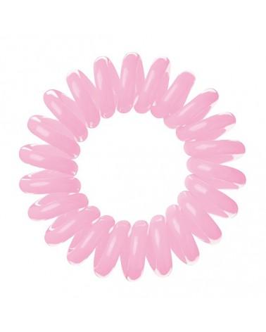 LAVIO gumki do włosów 3 szt.kolor różowy
