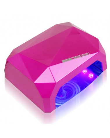 LAVIO Lampa Diamond CCFL@LED 36W różowa