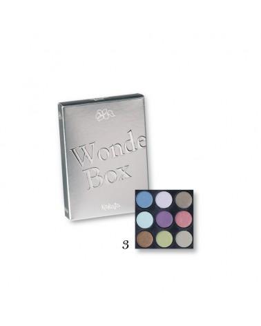 Karaja Wonder Box Mini paletka dziewięciu cieni do powiek nr 3