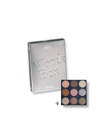 Karaja Wonder Box Mini paletka dziewięciu cieni do powiek nr 4