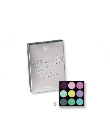 Karaja Wonder Box Mini paletka dziewięciu cieni do powiek nr 5