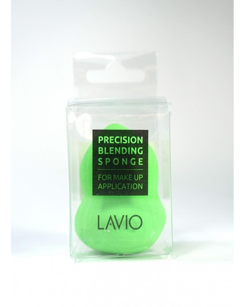 Lavio Blender Gąbka do makijażu gruszka kolor jasna zieleń