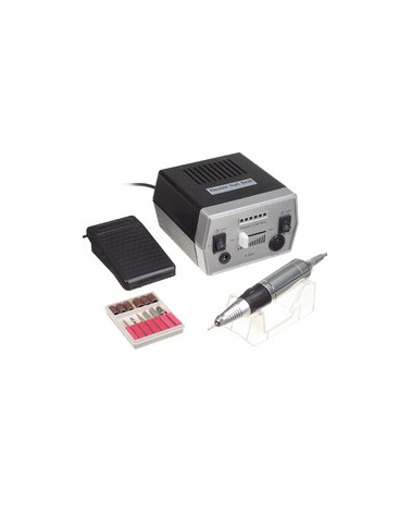 Frezarka do manicure JD700 Czarna + zestaw frezów