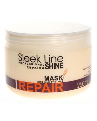 Stapiz Maska z jedwabiem - Sleek Line - Repair & Shine 250ml