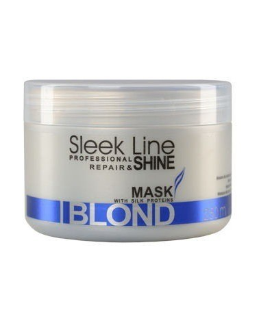 Stapiz Maska do włosów z jedwabiem Sleek Line Blond 250ml