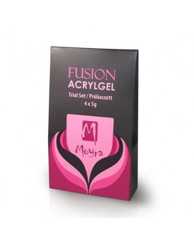 Moyra Fusion Acrylgel Zestaw 4 x 5g