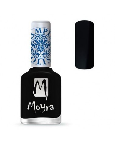 Moyra Lakier do stempli 06 Black 12 ml