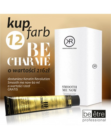 BeCharme Zestaw 12 farba plus Keratin Revolution 60ml gratis