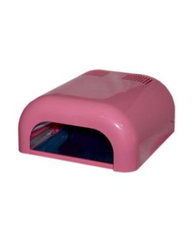 DCD EG LAMPA UV 36W - Różowa z otwieraną półką NOWOŚĆ