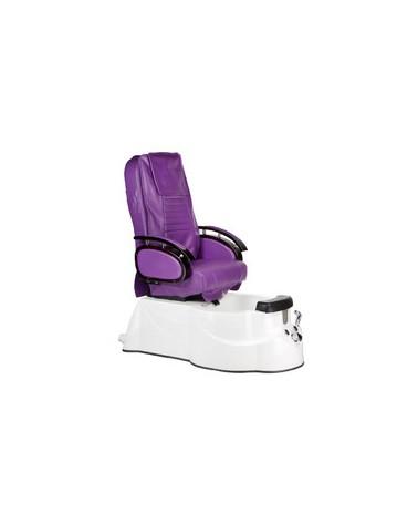 Fotel do pedicure z masażem BR-3820D Fioletowy