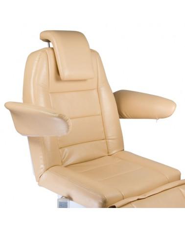 Elektryczny fotel kosmetyczny Bologna BG-228 beż