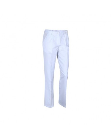VENA Spodnie kosmetyczne białe