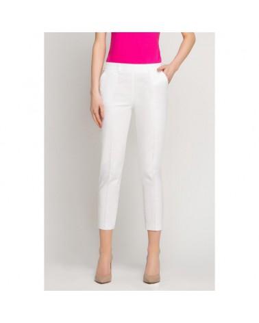 VENA Spodnie kosmetyczne cygaretki białe