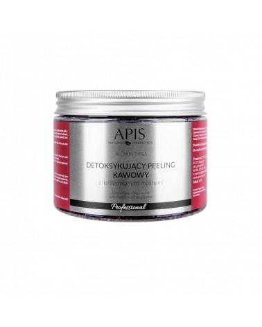 APIS 53485 Detoksykujący peeling kawowy z liofilizowanymi malinami 300g