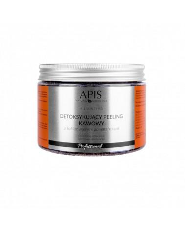 Apis 53515 Detoksykujący peeling kawowy z liofilizowanymi pomarańczami 300g