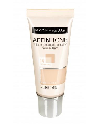 Maybelline Affinitone Foundation 14 Creamy Beige R