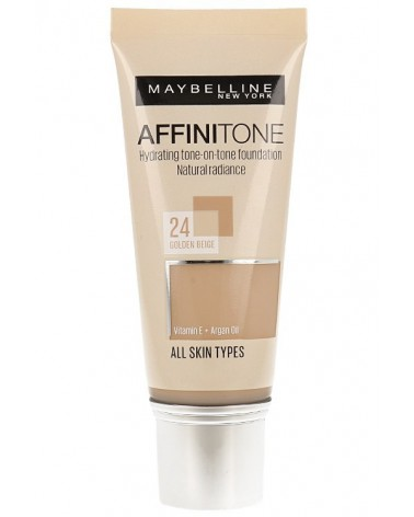 Maybelline Affinitone Foundation 24 Golden Beige R