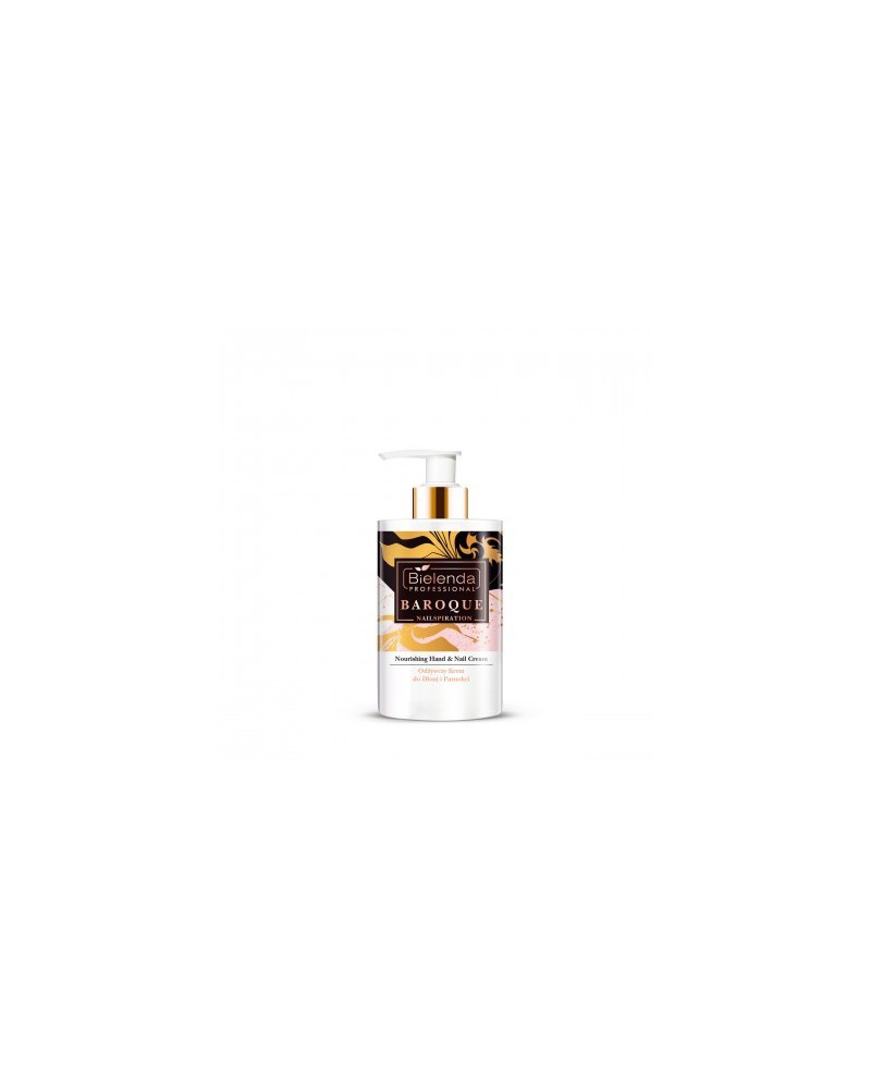 Bielenda Nailspiration Baroque odżywczy krem do dłoni 300 ml