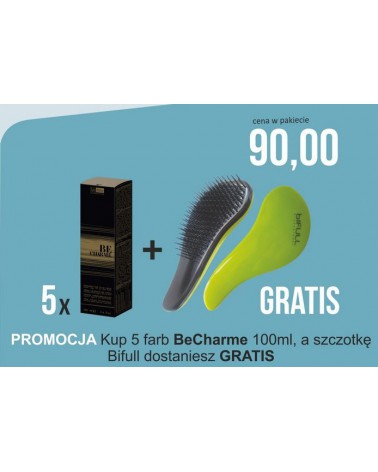 Pakiet 10 farb Be Charme 100 ml plus brzytwa Bifull GRATIS
