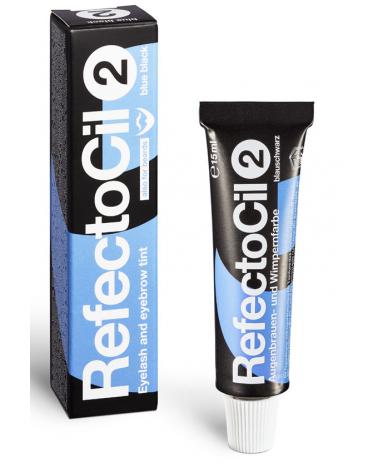 RefectoCil Henna - Farba do brwi i rzęs 15 ml - 2.0 Czarno niebieska