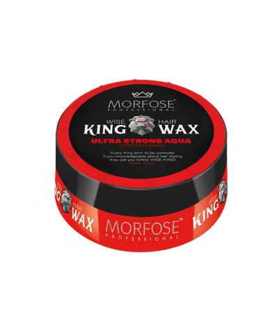 MORFOSE King wax mad hair mega strong aqua 175ml