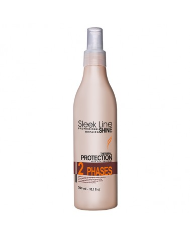 Stapiz Dwufazowy płyn do prostowania włosów z jedwabiem Sleek Line