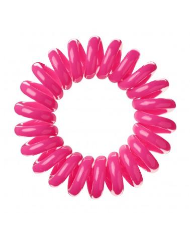 Bobbles Hair Band Gumka do włosów - różowa opak 3szt