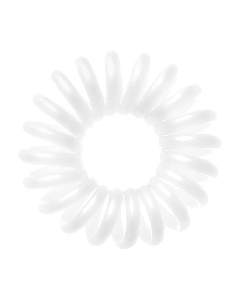 Bobbles Hair Band Gumka do włosów - biała opak 3szt