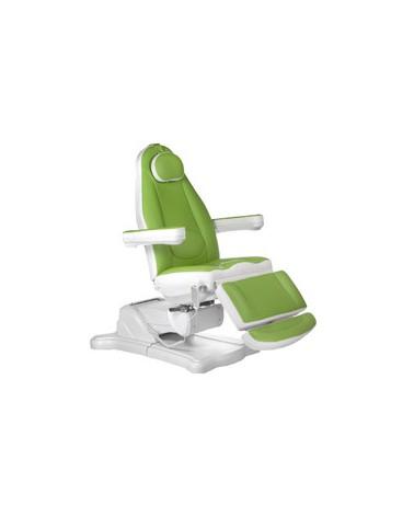 Elektryczny fotel kosmetyczny Mazaro BR-6672 Zielo